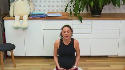 S'assoir ou se relever sans se blesser pendant la grossesse