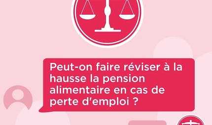 Pension alimentaire: peut-on la faire réviser en cas de perte d'emploi ? Réponse de l'avocate Vanessa Suied. (vidéo)