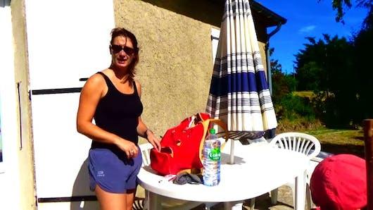 Angélique Marquise des Langes : vacances à la montagne avec bébé
