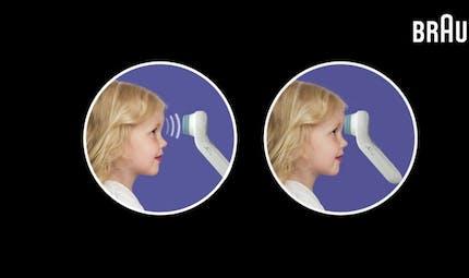 Prendre la température de son enfant sans le réveiller