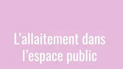 Interview de Meriem Bendriss : « En France, allaiter dans l'espace public est problématique »
