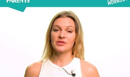 """Ma routine Pilates Fusion """"Belles fesses"""", avec Adèle Van Damme"""