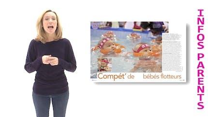 La minute de Parents : les bébés et la piscine
