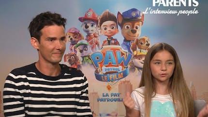 Vidéo : Joan Faggianelli & Valentina | La Pat'Patrouille Le Film | L'interview People