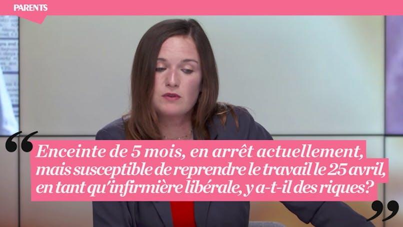 """Live Parents """"Grossesse et Coronavirus"""" : « Enceinte de 5 mois et infirmière, est-il possible de travailler ? »"""