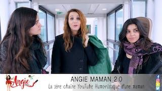 Angélique Marquise des Langes : Angie rend visite aux enfants hospitalisés